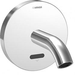 Hansa Hansapublic afdekset electronische wastafelkraan uitloop 12cm. chroom 41802100
