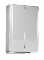 Franke Chronos papieren handdoekdispenser 29x11,5x43,8 cm. rvs 55015168