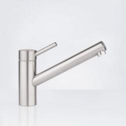 Kwc Inox keukenkraan met uitloop 225 mm. rvs 10271023700