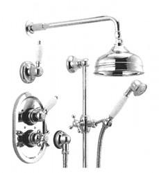 Huber Croisette Inbouw Thermostatische Doucheset Brons 912CS01HBA