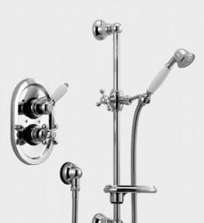 Huber Croisette Inbouw Thermostatische Doucheset Brons 910CS01HBA
