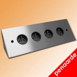 Energieblok ST3007 F RVS met Penaarde