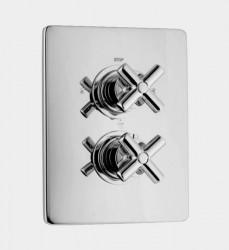 Huber Suite Inbouw thermostaat met 2-weg omsteller 369Q01HNS