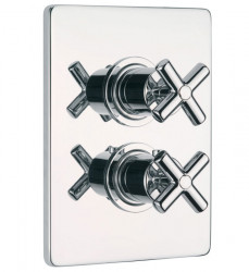 Huber Suite Inbouw thermostaat met stopkraan 239Q51HCR