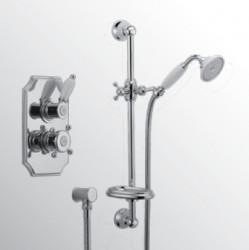 Huber Victorian Thermostatische Inbouw Doucheset Chroom 910.VT01H.CR