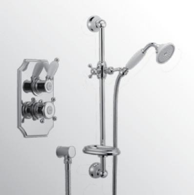 Huber Victorian Thermostatische Inbouw Doucheset Brons 910.VT01H.BA