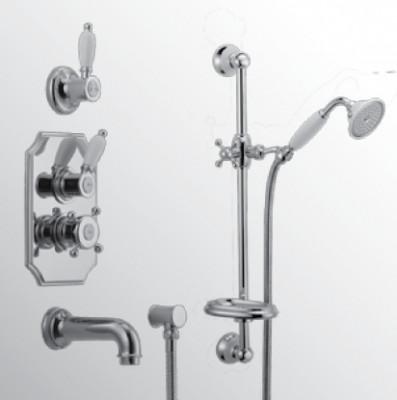 Huber Victorian Thermostatische Inbouw Doucheset RVS 914.VT01H.NS