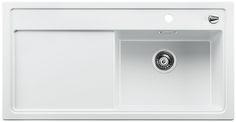 Blanco spoelbak Zenar XL 6 S-F BL wit vlakinbouw 519351