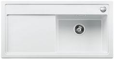 Blanco spoelbak Zenar XL 6 S BR opbouw wit 516018