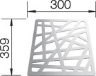 Blanco struktuurrooster ALAROS 225353