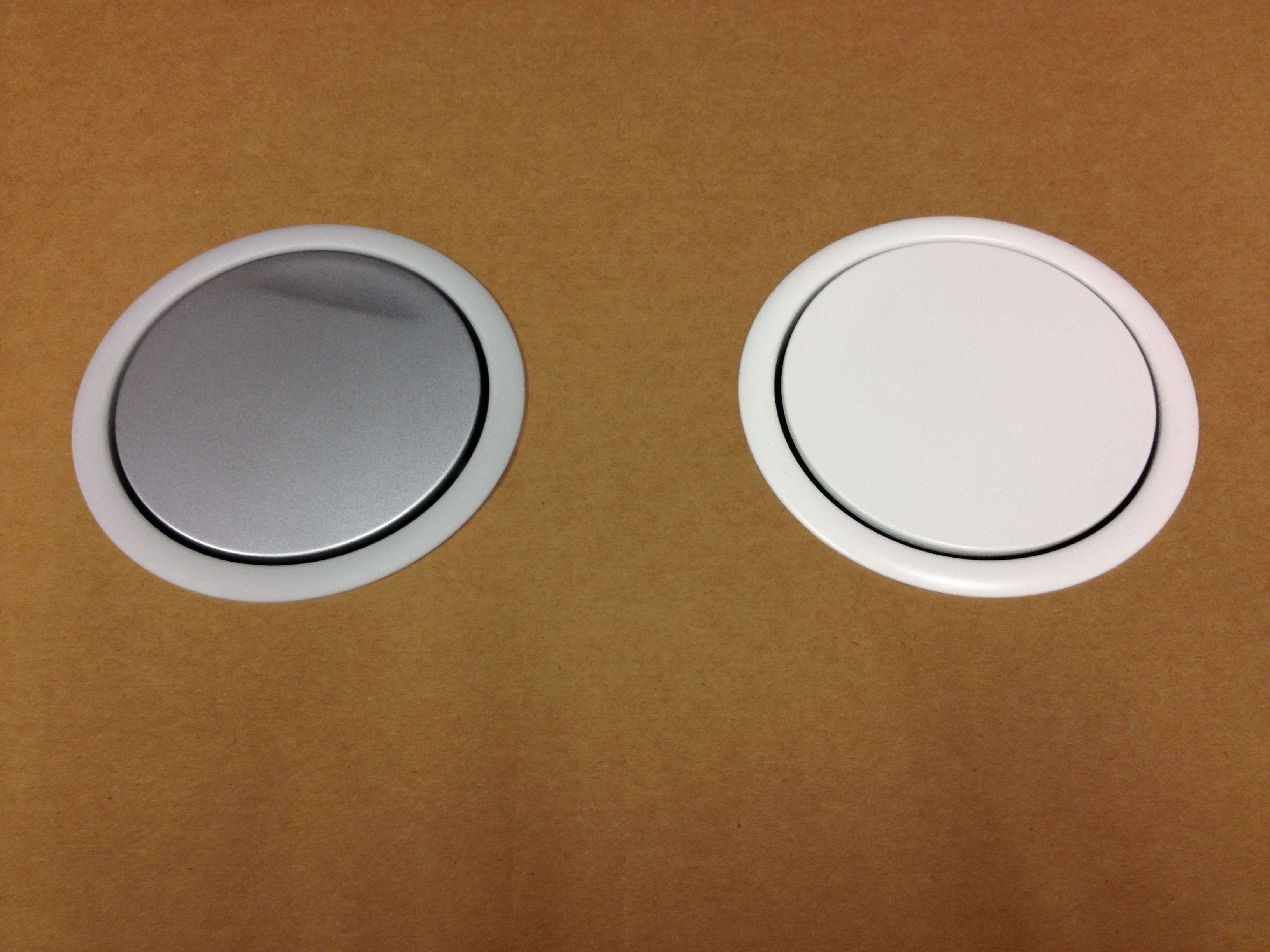 Wonderbaar Evoline verzinkbare keuken stopcontact 3 voudig met witte deksel TF-19