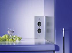 Energiezuil met 2 stopcontacten VST3007-2 met Belgische penaarde