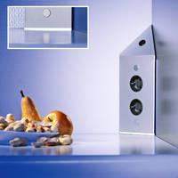 Energiezuil met 2 stopcontacten en schakelaar VSTS3007-2C met LED verlichting