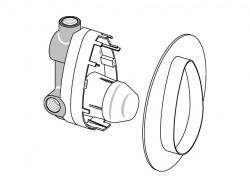 Ideal standard basisgarnituur voor inbouw bad/douchekraan A2650NU