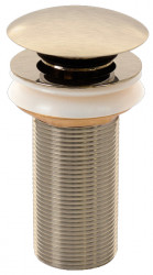 Blusani Click afvoerplug 1.1/4 RVS-look lange draad BC73111