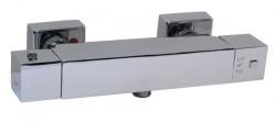 Blusani Quad douchethermostaat met s-koppeling chroom BQ61100
