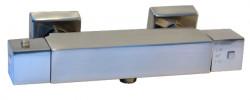 Blusani Quad douchethermostaat met s-koppeling RVS-look BQ61101