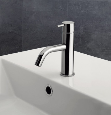 Waterevolution Flow wastafelmengkraan chroom T11001
