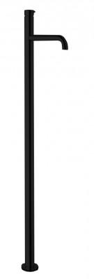 Waterevolution Flow vrijstaande wastafelkraan mat zwart T113PR