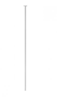 Waterevolution Flow plafond wastafelkraan uitloop mat wit T1678BR