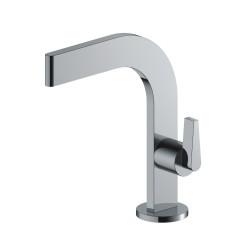 Aquadesign Vetri wastafelkraan plat chroom BNG2239