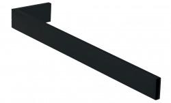 Waterevolution Deep handdoekhouder 35cm mat zwart A215PR