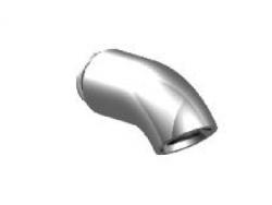 Zazzeri POP hoofddouche Mat zwart 2100CL08A003131