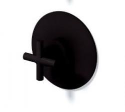 Zazzeri Da-Da inbouw 3-weg omsteller 4700V405AA1 mat zwart