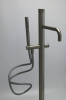 Waterevolution Flow vrijstaande badkraan met handdouche volledig RVS T133IE