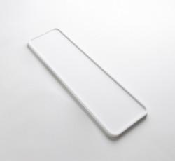 Solid-S dienblad Solid Surface rechthoek mat wit 45 x 14 x 1.2 cm 1208832642