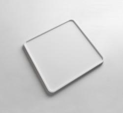 Solid-S dienblad Solid Surface vierkant mat wit 25 x 25 x 1,2 cm 1208832662