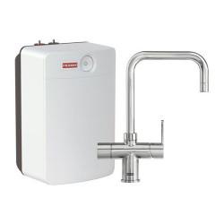 Franke Irena 3 in 1 kokendwater keukenkraan Combi XL chroom met 10 liter boiler 1190480689
