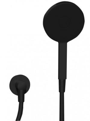 Zazzeri Uni Handdoucheset mat zwart met watertoevoer 3600F417A003131