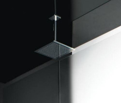 Zazzeri Regendouche 260mm met plafondbevestiging 242 mm chroom 1208849322