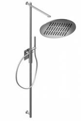 Zazzeri thermostatische inbouwdoucheset met hoofddouche 200 mm en handdouche chroom 1208849602