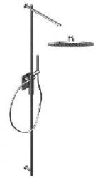 Zazzeri thermostatische inbouwdoucheset met hoofddouche 220 mm en handdouche RVS 1208849672