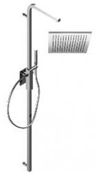 Zazzeri thermostatische inbouwdoucheset met hoofddouche en handdouche chroom 1208849732