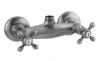 Klassieke kraan opbouw douchemengkraan met sterknoppen Chroom boven aansluiting 1208855302