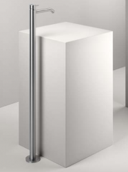 Zazzeri Z316 kolom wastafelkraan RVS met uitloop 20cm 1208856592