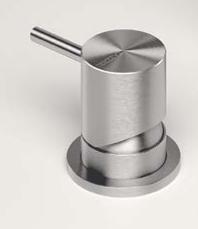 Zazzeri Z316 afbouwdeel knop opbouw RVS 3300M108A00