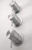 Zazzeri Z316 2-weg thermostatische wand-mengkraan voor douche RVS 1208857132