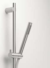 Zazzeri Z316 inbouw glijstang met handdouche 838mm RVS 1208857272
