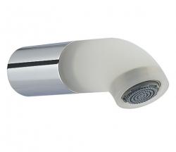 Zazzeri pop baduitloop 123mm wit - melk wit 1208859122