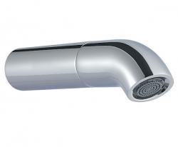 Zazzeri pop baduitloop 163mm chroom - mat wit 1208859262