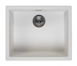 Reginox Amsterdam 50 Regi-graniet spoelbak wit onderbouw en opbouw R30837