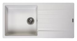 Reginox Harlem 10 Regi-graniet spoelbak wit opbouw R31247