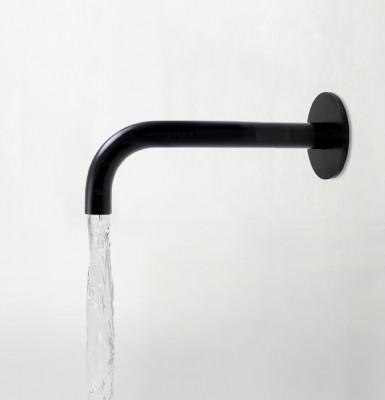 Waterevolution Flow baduitloop mat zwart 15cm T1671-15PR