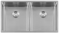 Lorreine Superplug 3434SP rvs dubbele spoelbak 3434cm 1208920512