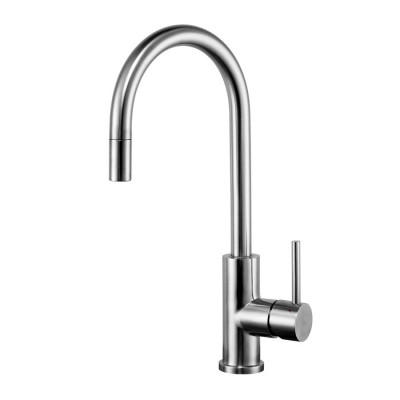 Caressi Stainless steel eenhendel keukenmengkraan RVS volledig roestvrij staal CA114I U ECO 1208920630