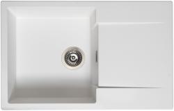 Reginox Amsterdam 78 Regi-graniet spoelbak wit opbouw met afdruip L8078-PW R32749